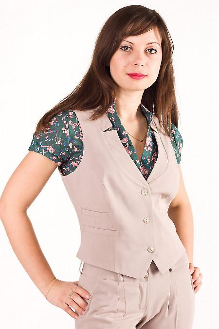 Фото Жилет женский Деловая женская одежда