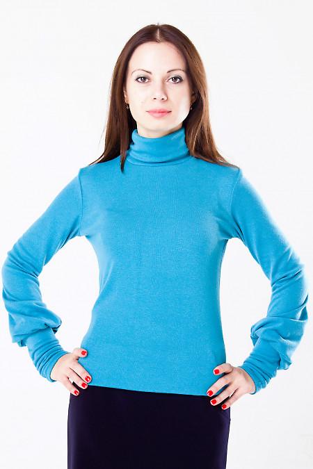 Фото Гольф трикотажный Деловая женская одежда