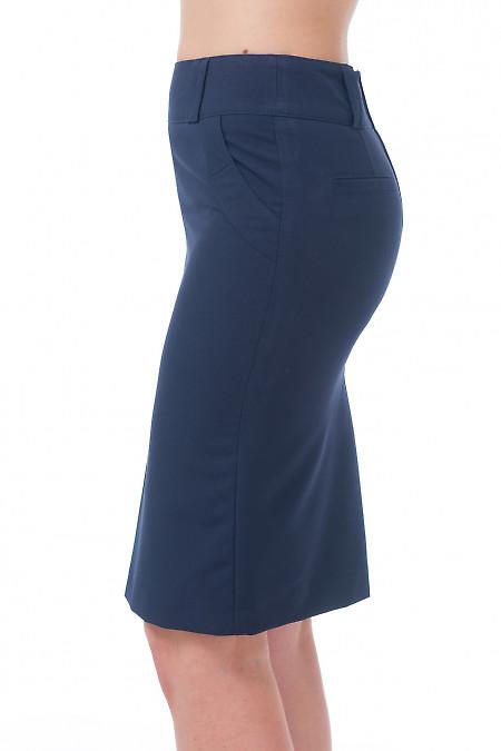 Купить юбку со складкой Деловая женская одежда
