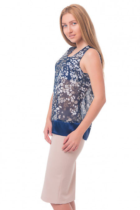 Купить юбку-карандаш бежевую Деловая женская одежда