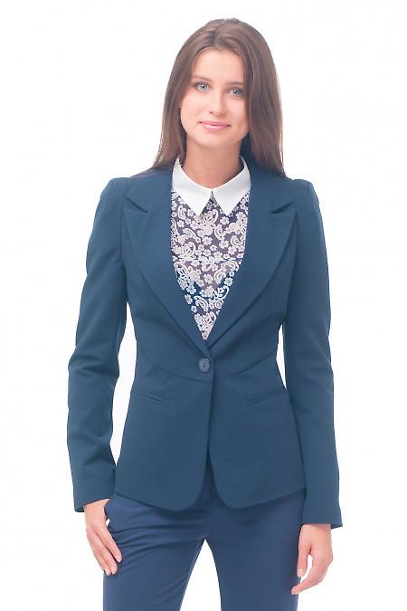 Жакет женский синий деловой Деловая женская одежда