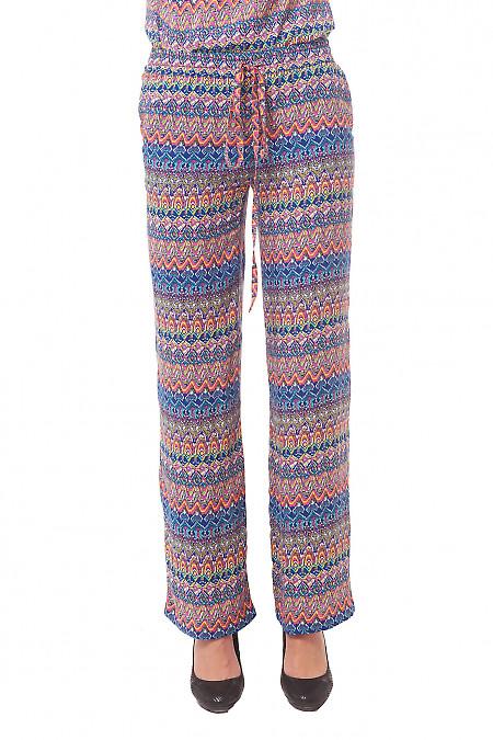 Брюки женские разноцветные Деловая женская одежда