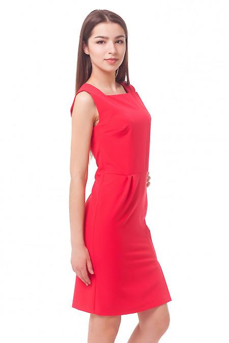 Купить сарафан коралловый с запахом Деловая женская одежда