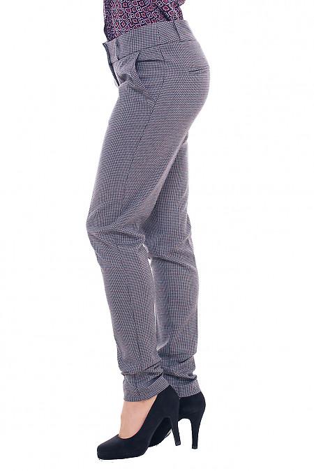 Купить брюки теплые в лапки Деловая женская одежда фото