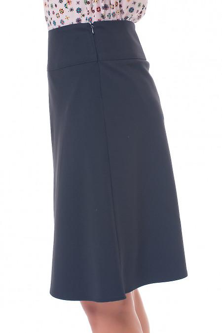 Купить черную юбку на кокетке Деловая женская одежда фото