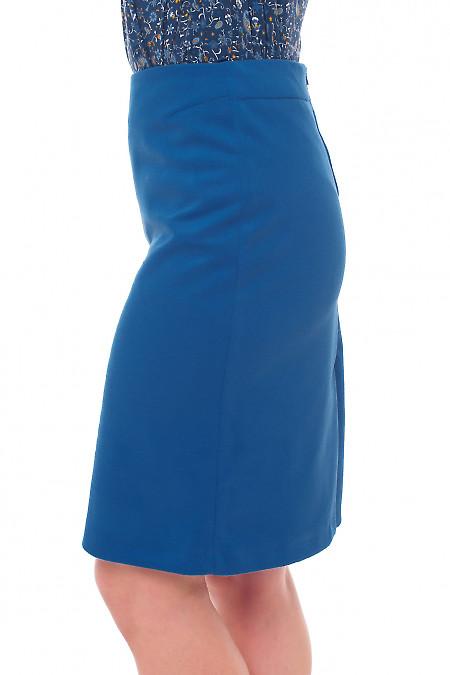 Купить юбки электрик теплая Деловая женская одежда фото