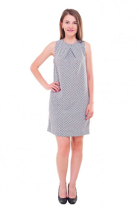Купить платье из вискозы с одним защипом на груди Деловая женская одежда фото