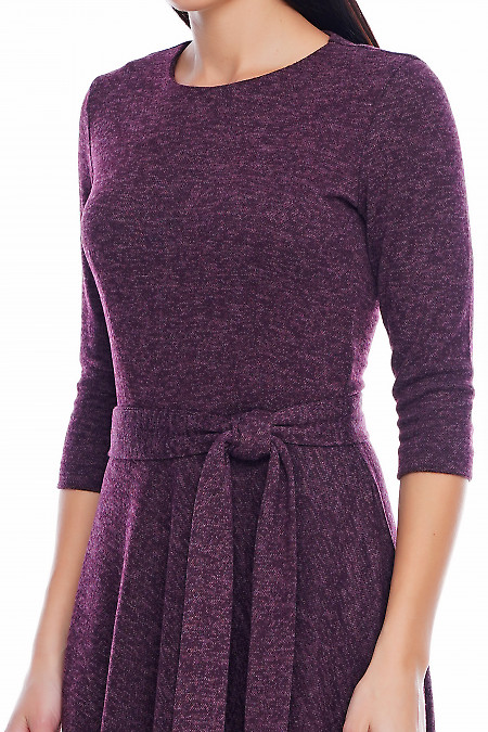 Платье теплое Деловая женская одежда фото