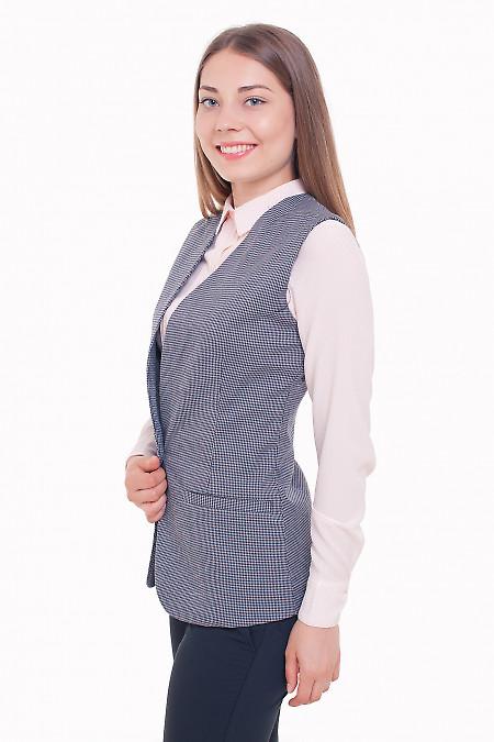 Теплая жилетка Деловая женская одежда фото
