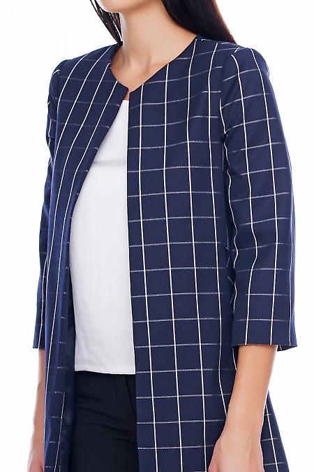 Кардиган с карманами Деловая женская одежда фото