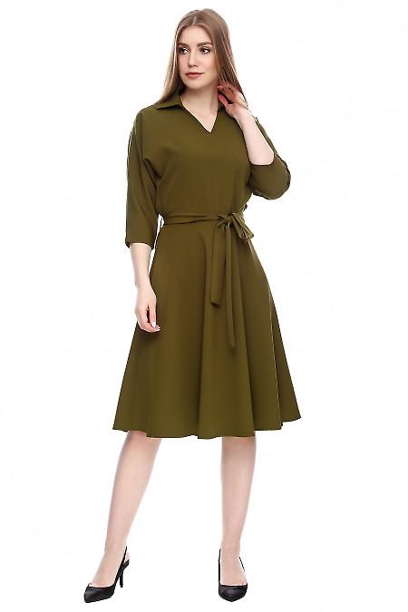 Платье летучая мышь Деловая женская одежда фото