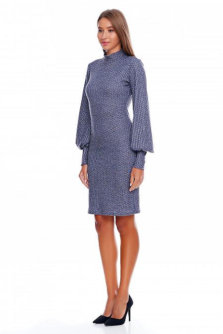 Платье трикотажное Деловая женская одежда фото