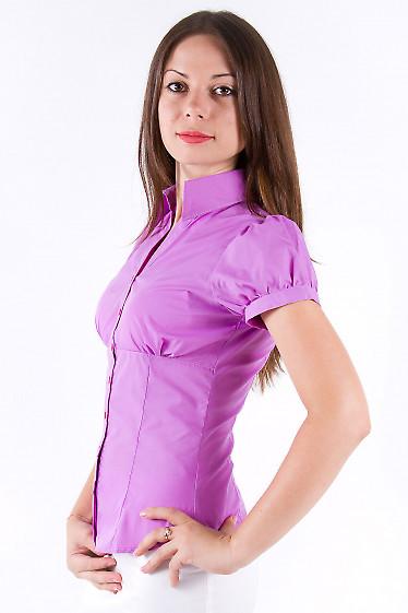 Фото Блузка с коротким рукавом Деловая женская одежда