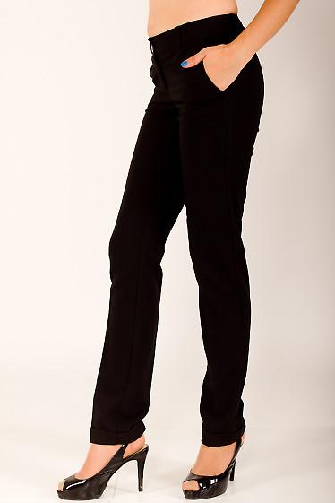 Фото Брюки зауженные к низу Деловая женская одежда
