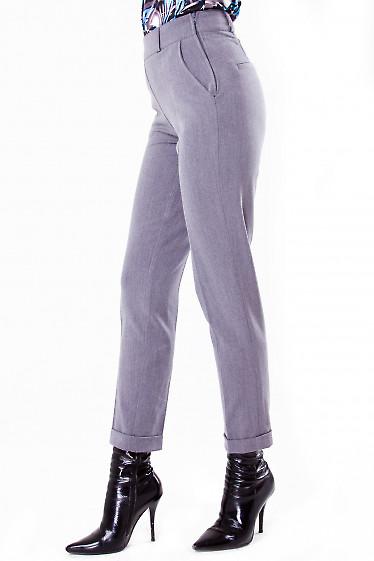 Фото Теплые брюки Деловая женская одежда