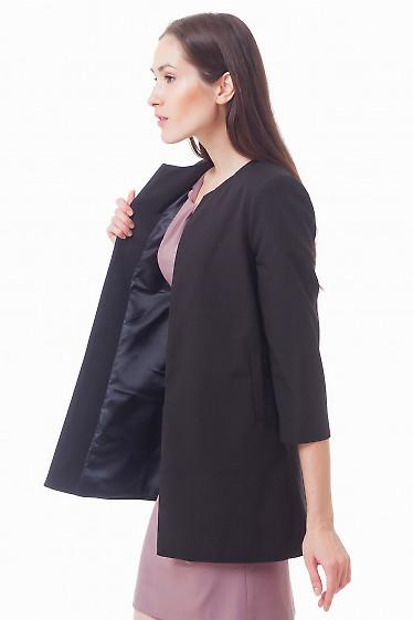 Купить черный кардиган Деловая женская одежда