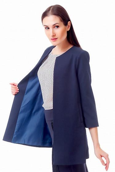 Купить темно-синий жакет Деловая женская одежда