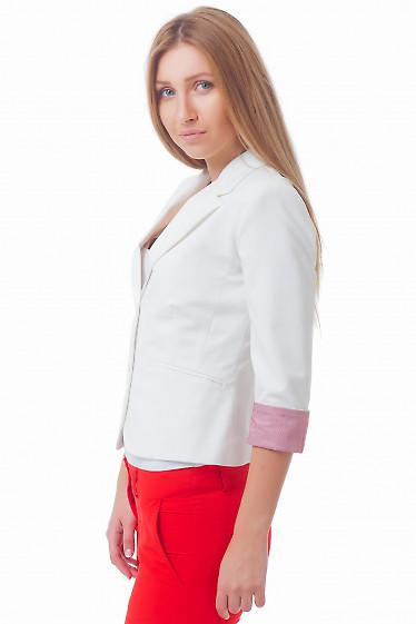 Купить молочный жакет Деловая женская одежда