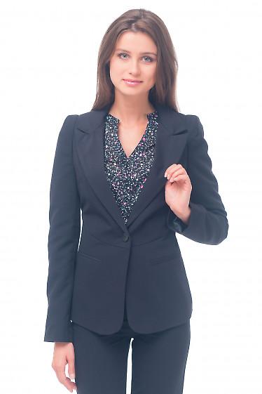 Жакет женский деловой черный Деловая женская одежда