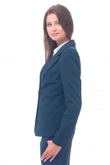 Купить Жакет женский синий деловой Деловая женская одежда