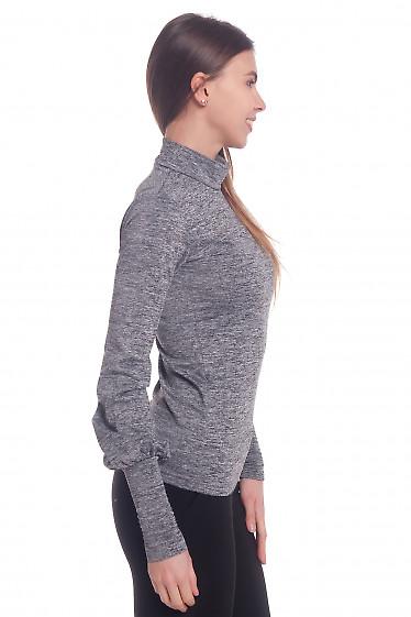 Купить гольф серый меланжевый Деловая женская одежда