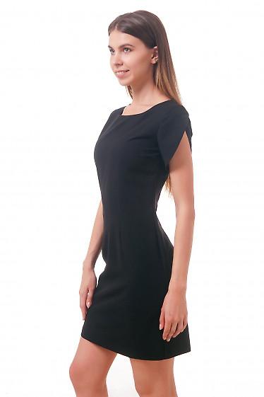 Фото Платье короткое черное Деловая женская одежда