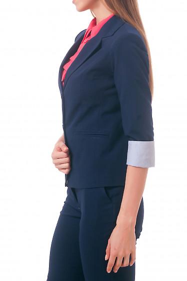 Фото Жакет с полосатой манжетой Деловая женская одежда