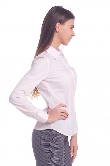 Купить женскую розовую рубашку Деловая женская одежда