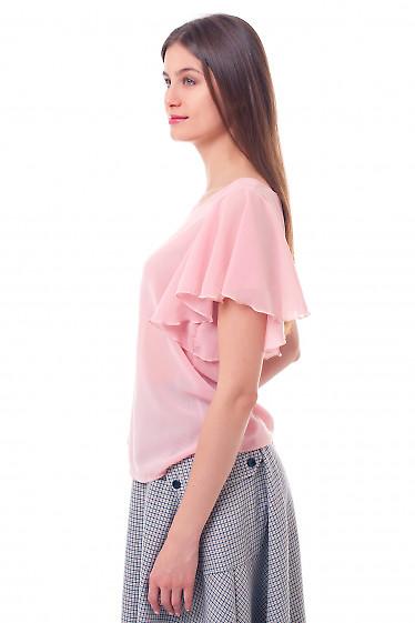 Купить блузку кремовую с крылышками Деловая женская одежда фото