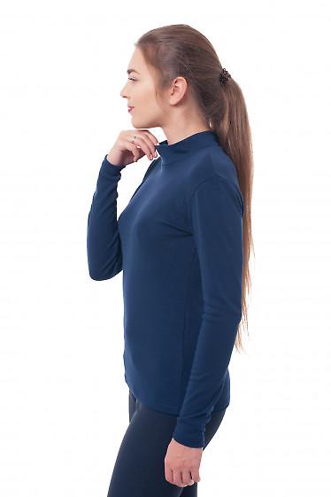Купить гольф темно-синий Деловая женская одежда фото