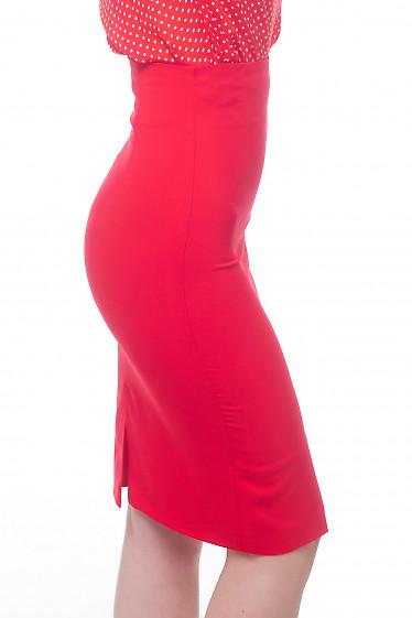 Купить юбку с высокой талией Деловая женская одежда фото