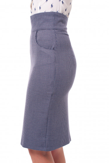Юбка с высокой талией Деловая женская одежда фото