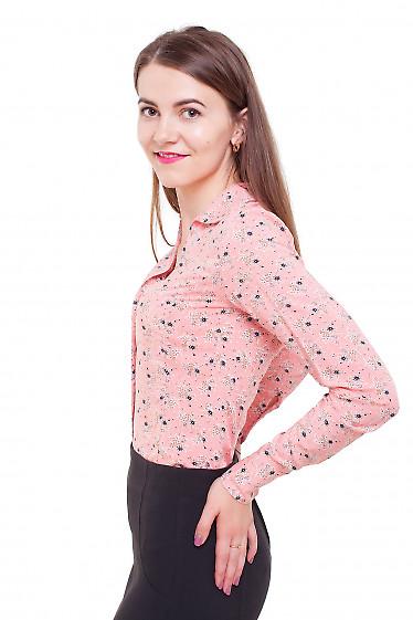 Блузка из штапеля Деловая женская одежда фото