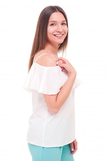 Купить блузку на тонких бретелях Деловая женская одежда фото