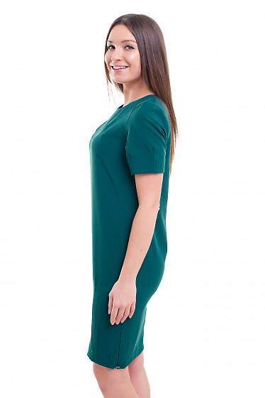 Купить платье-футляр с защипами на юбке Деловая женская одежда фото