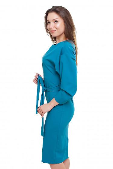 Платье с рукавом летучая мышь Деловая женская одежда фото
