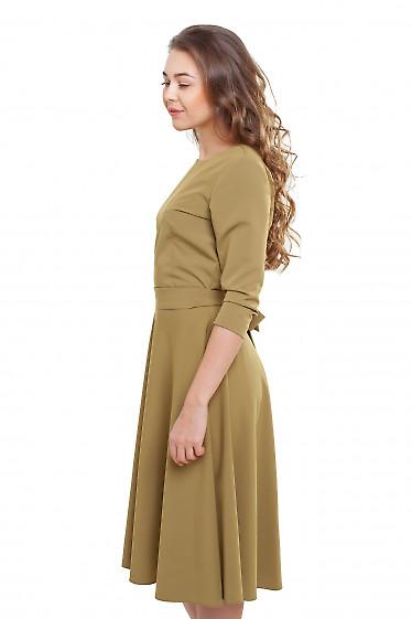Платье с пышной юбкой Деловая женская одежда фото