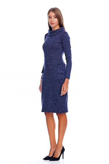 Зимнее платье Деловая женская одежда фото