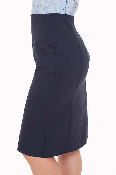Юбка с завышенной талией Деловая женская одежда фото