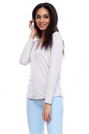 Блузка трикотажная Деловая женская одежда фото