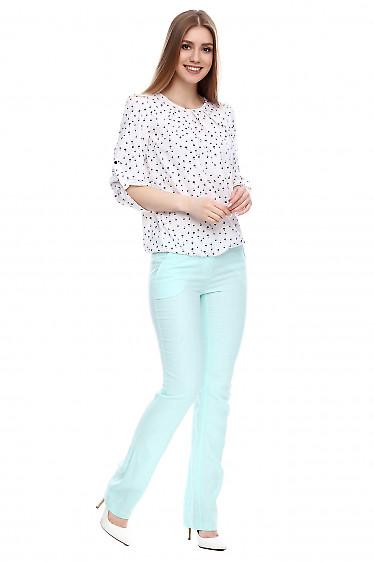 Льняные брюки Деловая женская одежда фото