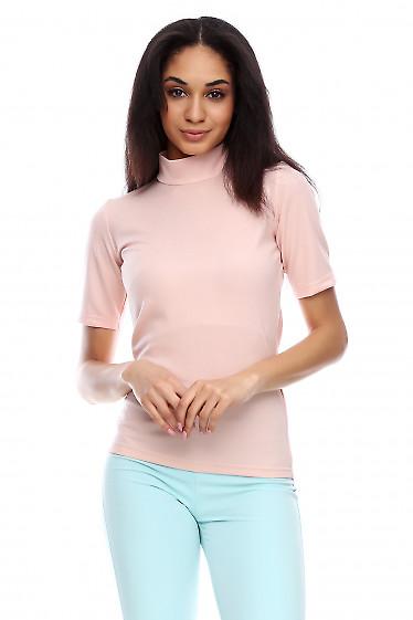 Трикотажный гольф Деловая женская одежда фото