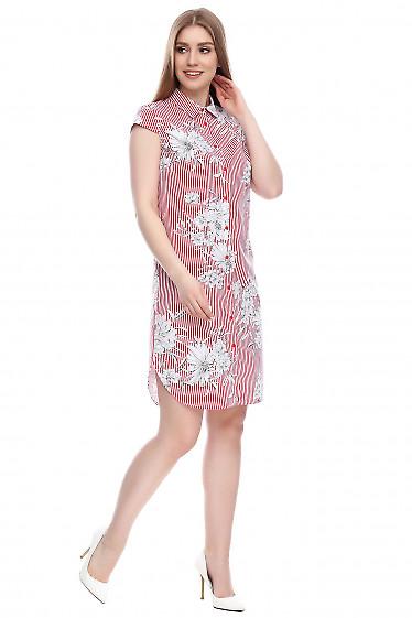 Платье из хлопка Деловая женская одежда фото