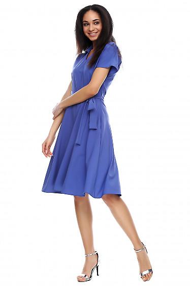 Платье с рукавом-летучая мышь Деловая женская одежда фото