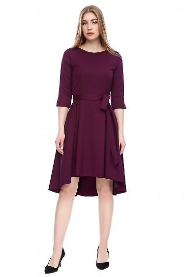 Платье с асимметричным низом Деловая женская одежда фото