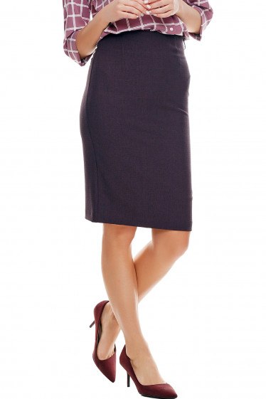 Купить юбку карандаш в клетку деловая Деловая женская одежда фото