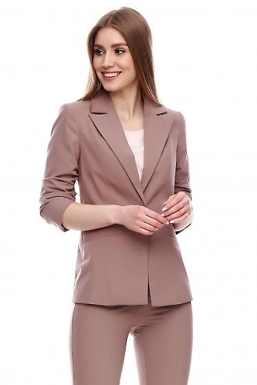 Жакет удлиненный Деловая женская одежда фото