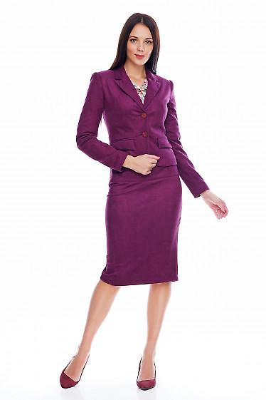 Жакет теплый Деловая женская одежда фото