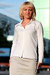 Блузка белая трикотажная Деловая женская одежда
