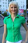 Блузка летняя зеленая Деловая женская одежда